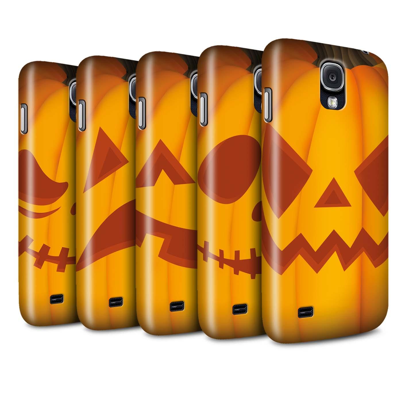 STUFF4-Matte-Phone-Case-for-Samsung-Galaxy-S4-SIV-Halloween-Pumpkin