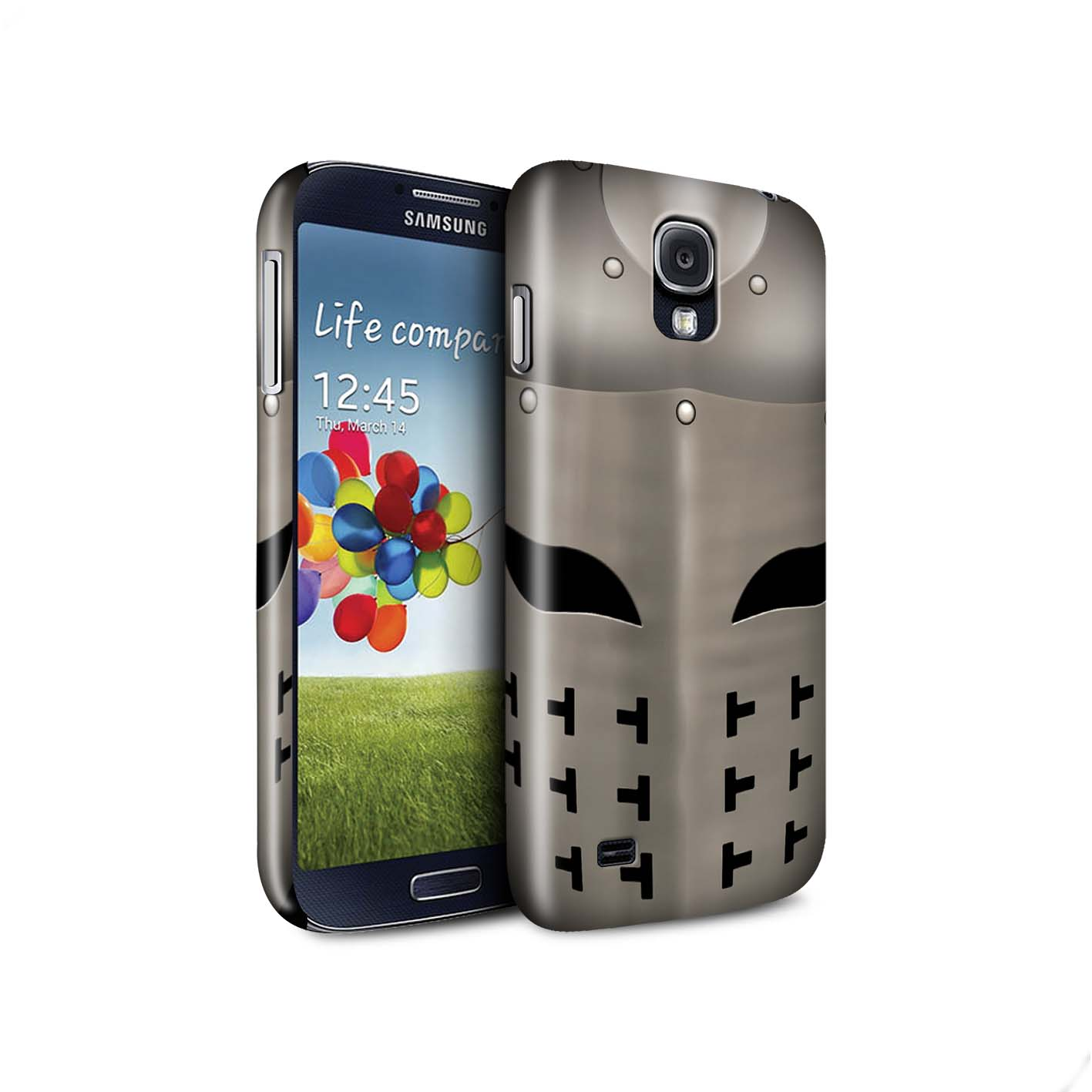 STUFF4-Matte-Phone-Case-for-Samsung-Galaxy-S4-SIV-Knight-Armour