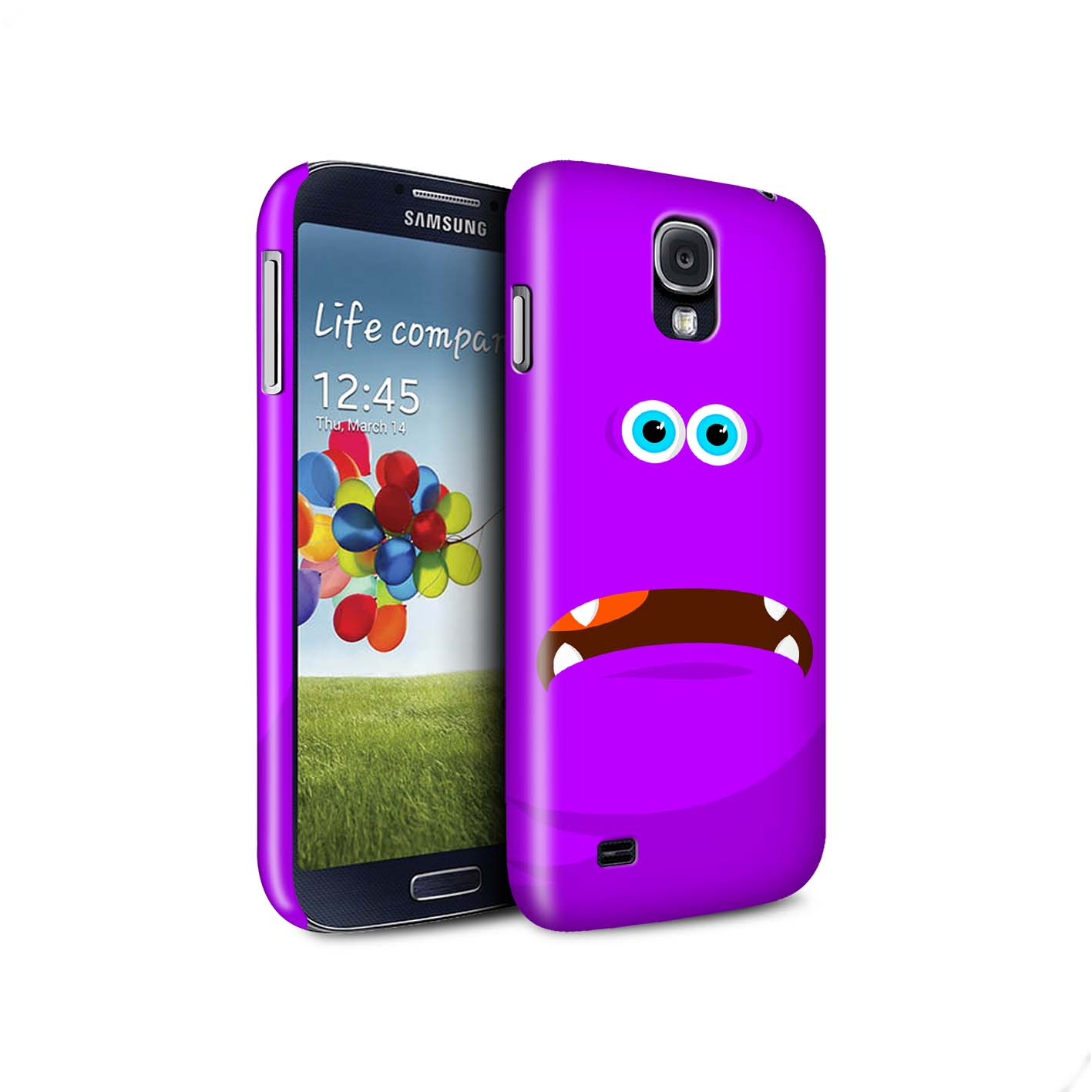 STUFF4-Matte-Phone-Case-for-Samsung-Galaxy-S4-SIV-Monsters