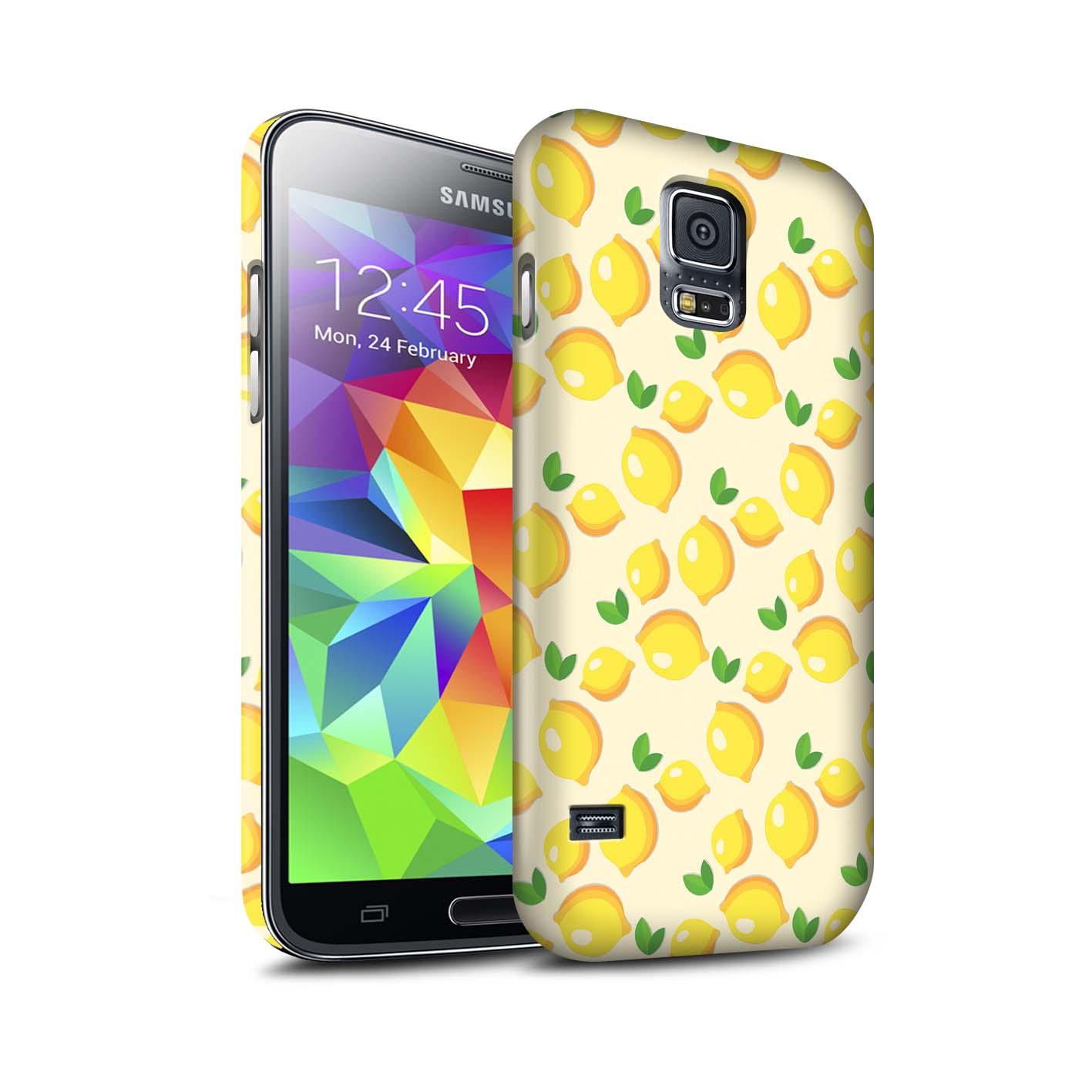 Coque-Etui-Matte-de-STUFF4-pour-Samsung-Galaxy-S5-SV-Mode-Jaune