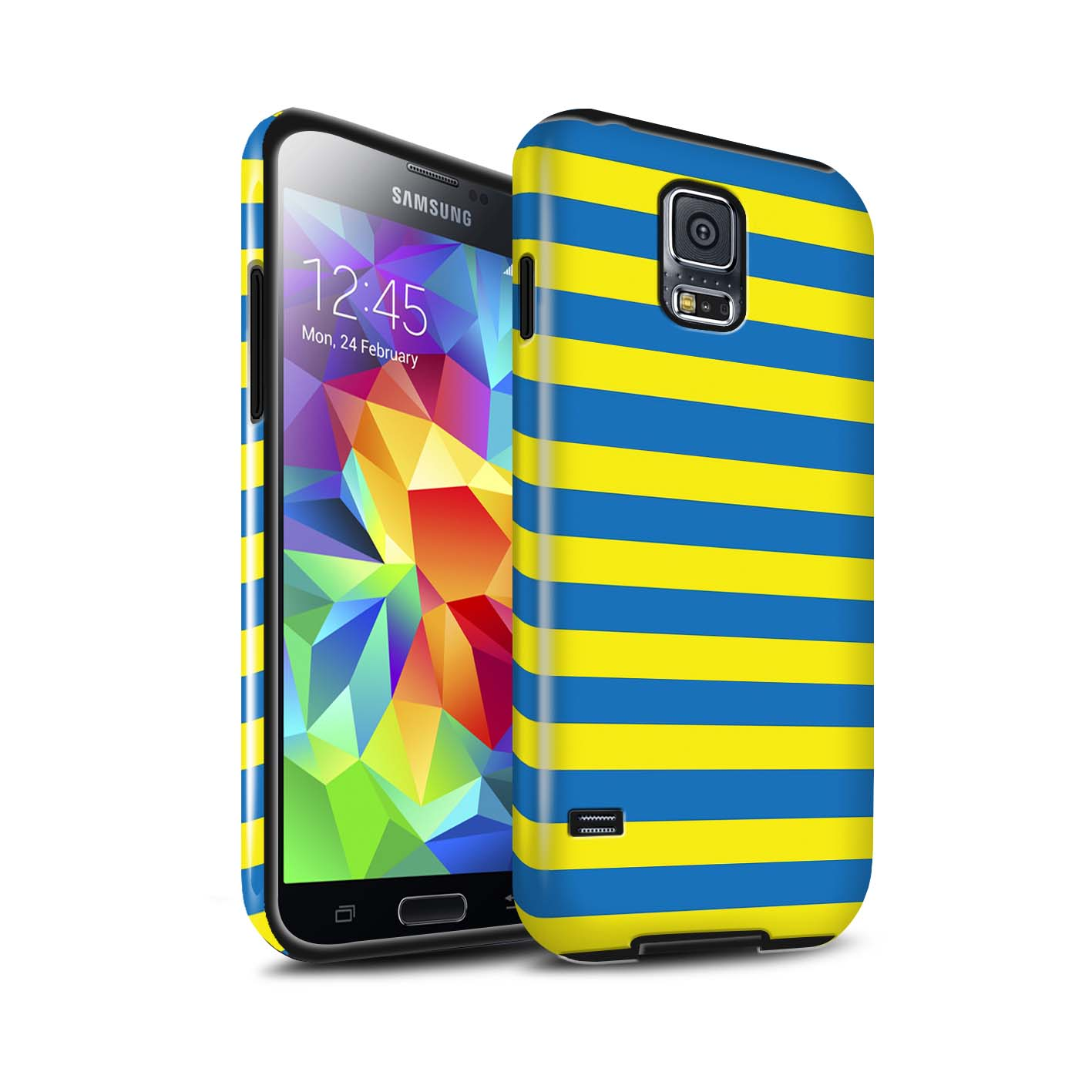 Robuste-Brillant-Antichoc-Etui-STUFF4-pour-Samsung-Galaxy-S5-SV-Mode-Jaune
