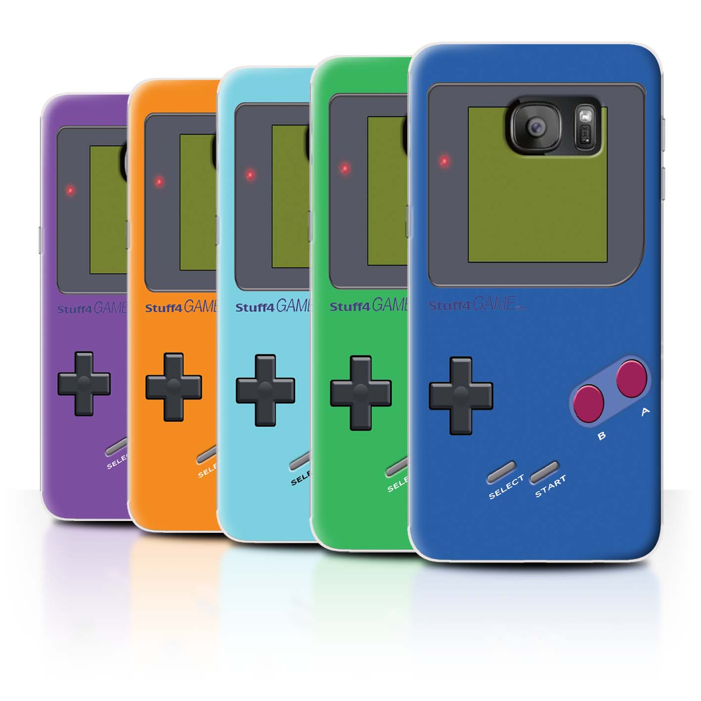 STUFF4-Back-Case-Cover-Skin-for-Samsung-Galaxy-S7-Edge-G935-Video-Gamer-Gameboy