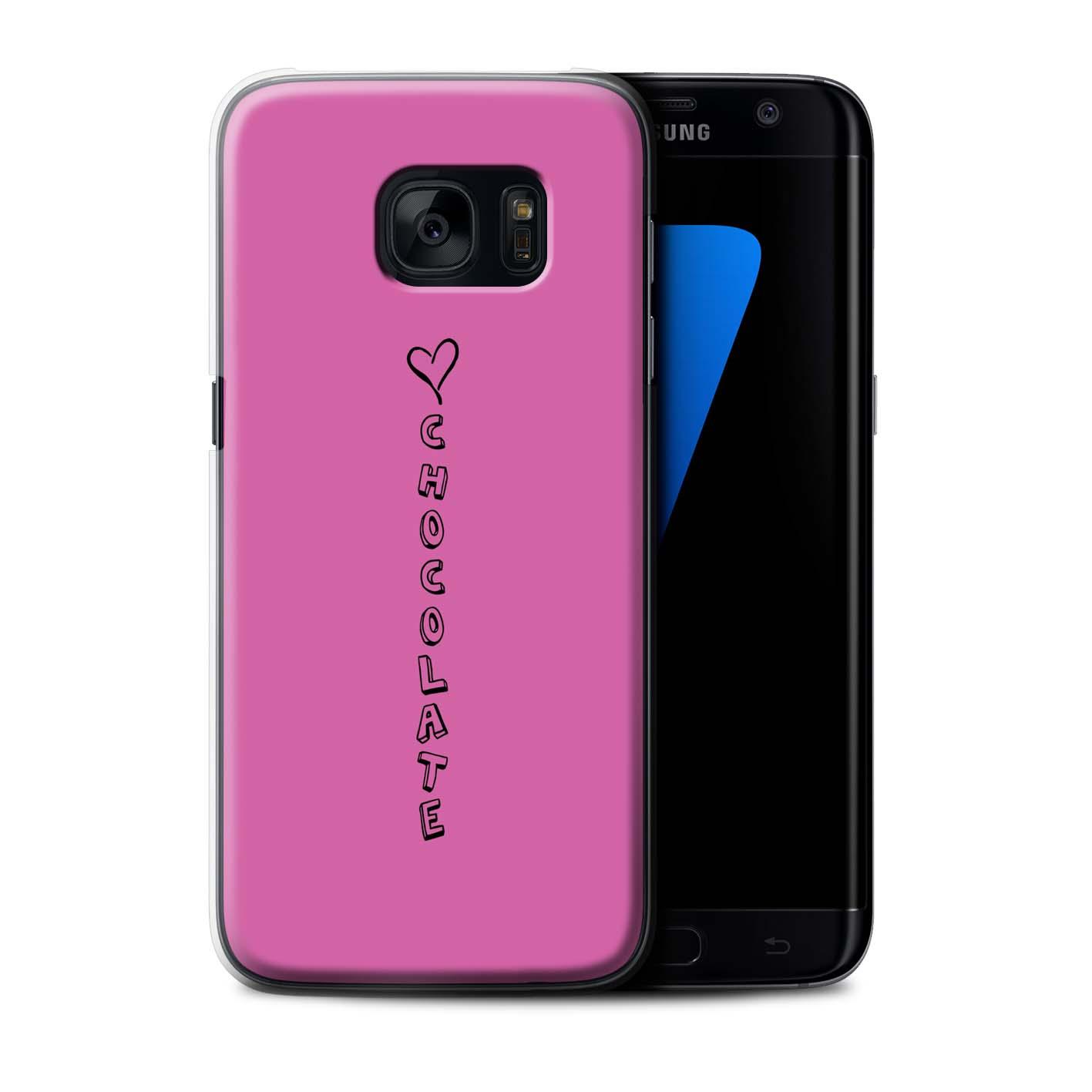 Stuff 4 teléfono caso/cubierta trasera para Samsung Galaxy S7/G935/Corazón Xoxo Edge