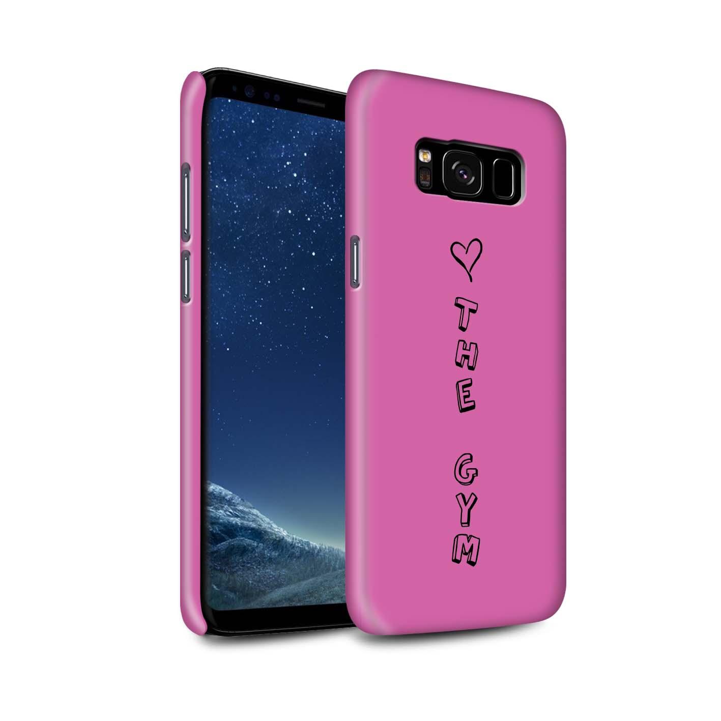 Stuff 4 Brillo Funda De Teléfono Para Samsung Galaxy S8/G950/Corazón Xoxo