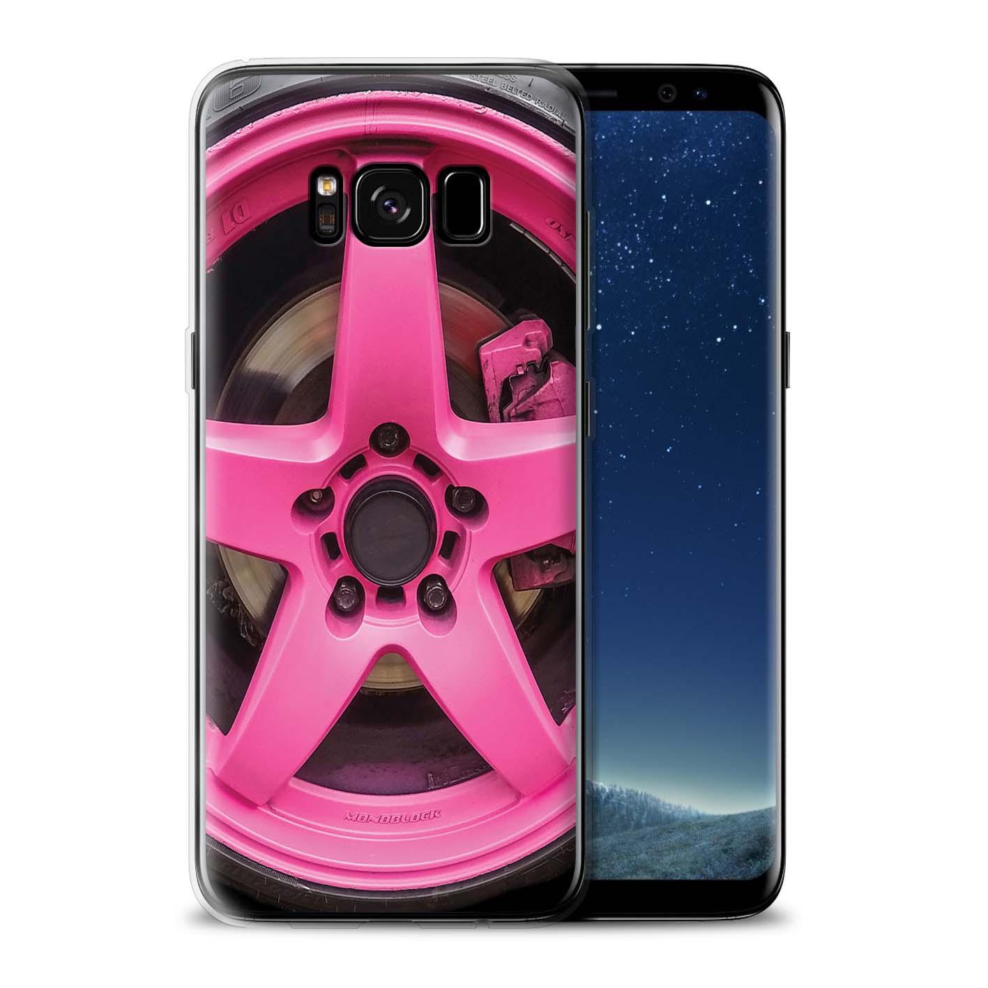 Gel-TPU-Coque-Etui-de-Stuff4-pour-Samsung-Galaxy-S8-Plus-G955-Jantes-Alliage