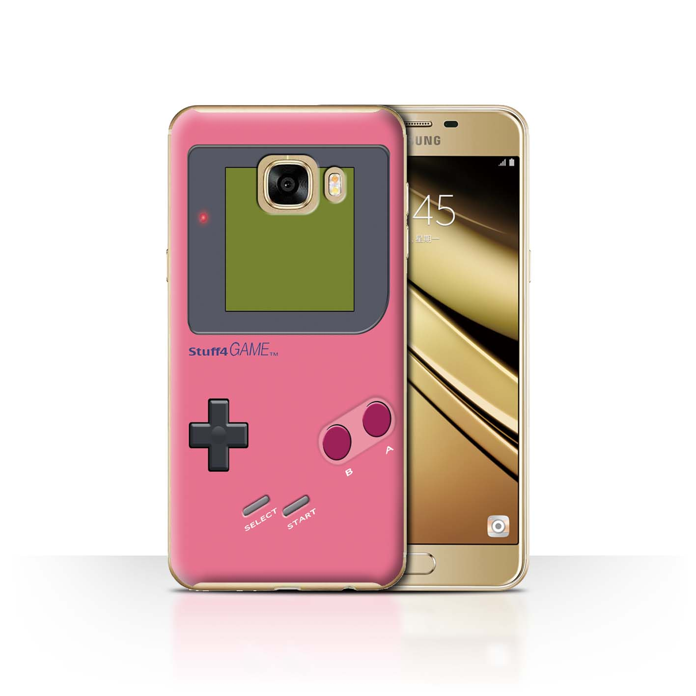 STUFF4-Back-Case-Cover-Skin-for-Samsung-Galaxy-C7-Video-Gamer-Gameboy