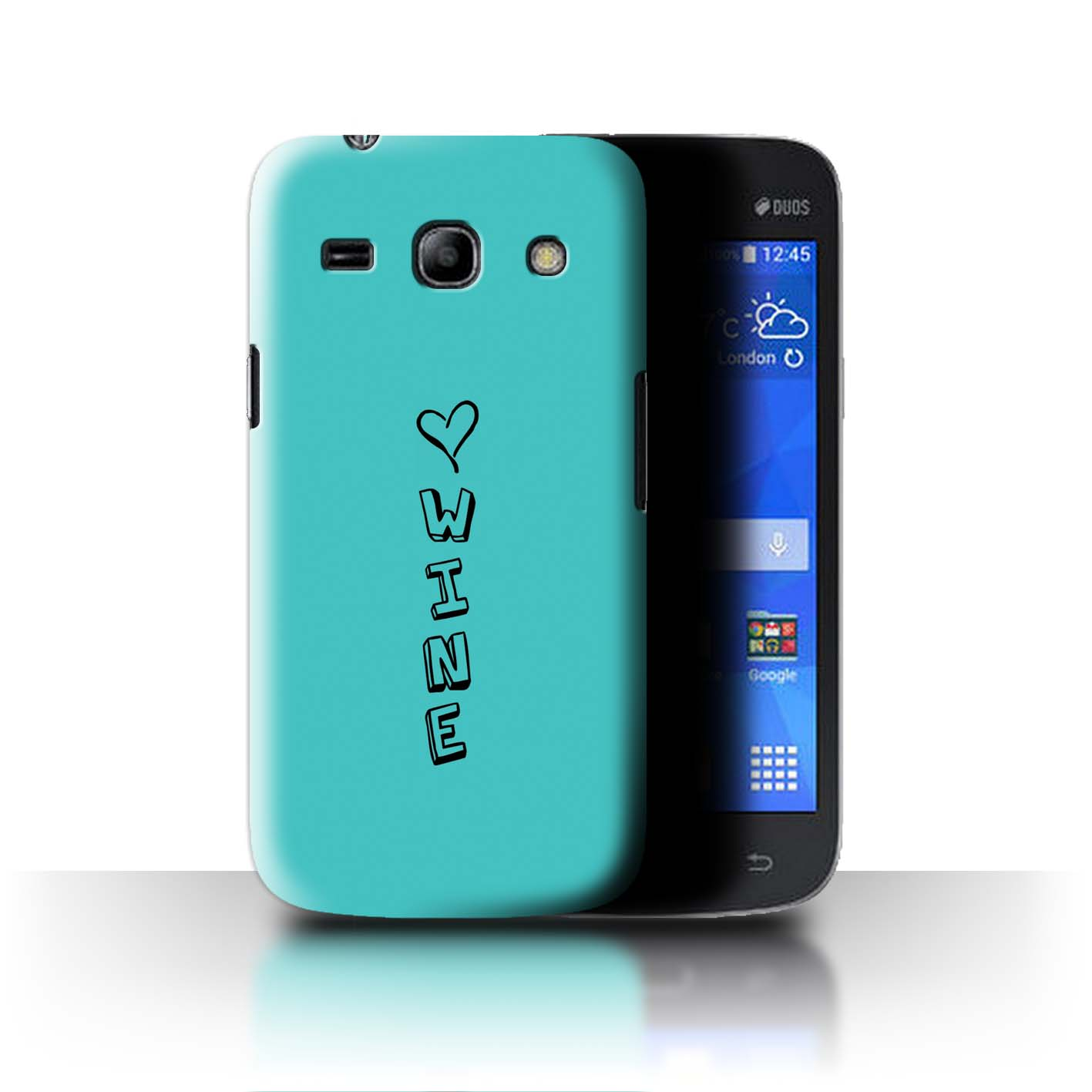 Stuff 4 teléfono caso/cubierta trasera para Samsung Galaxy Star 2/G350E/Corazón Xoxo Plus