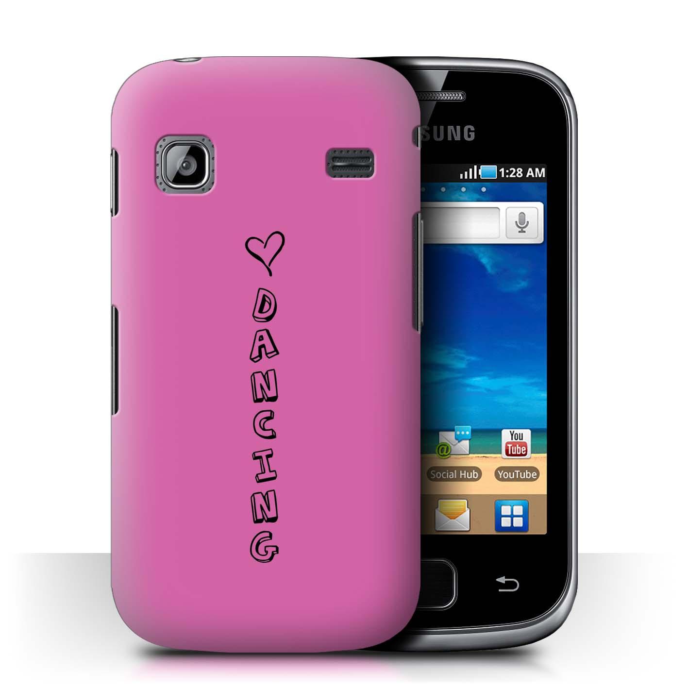Stuff 4 teléfono caso/cubierta trasera para Samsung Galaxy Gio/S5660/Corazón Xoxo