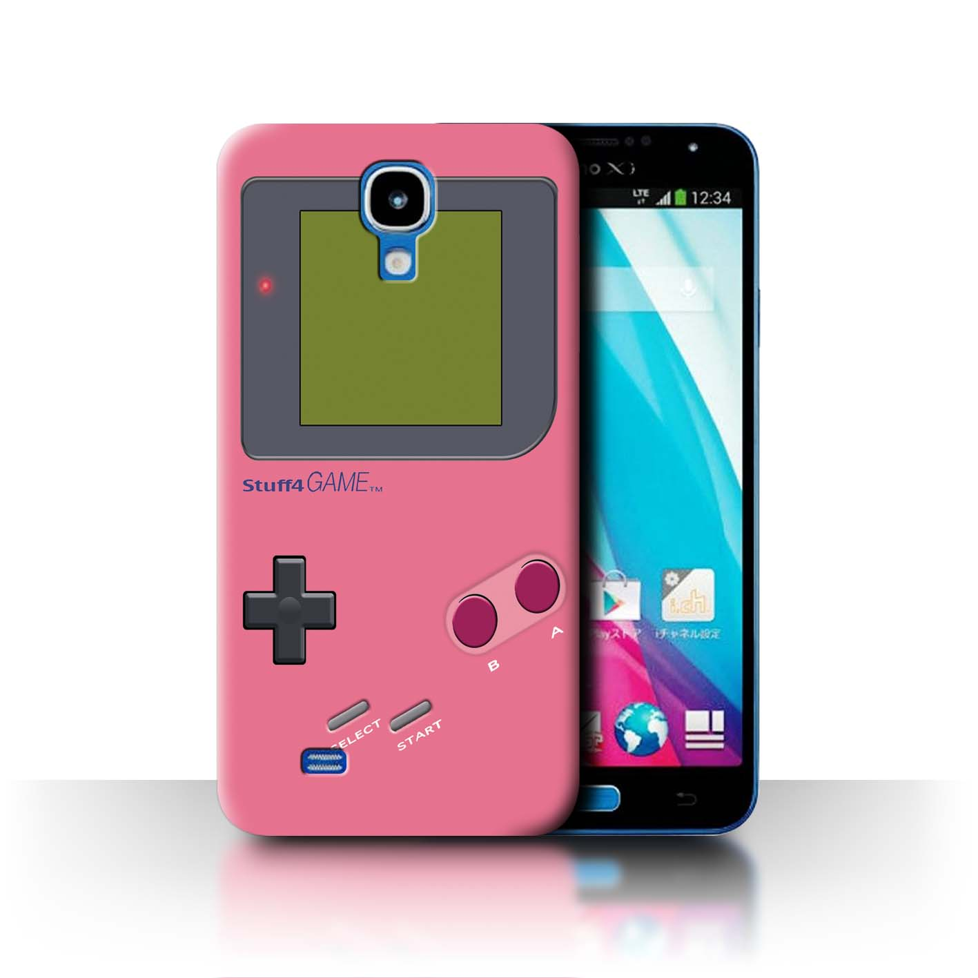 STUFF4-Back-Case-Cover-Skin-for-Samsung-Galaxy-J-N075T-Video-Gamer-Gameboy