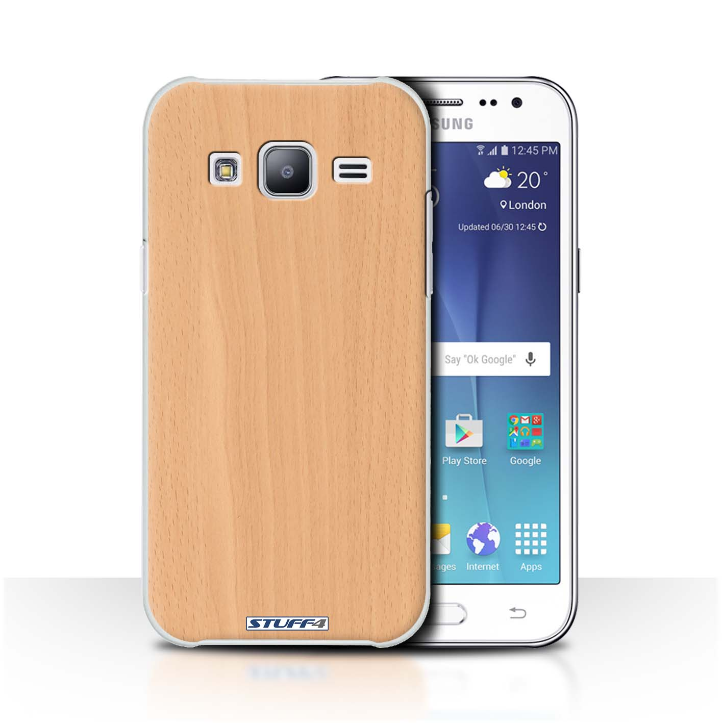 STUFF4 Back Case Cover Skin for Samsung Galaxy