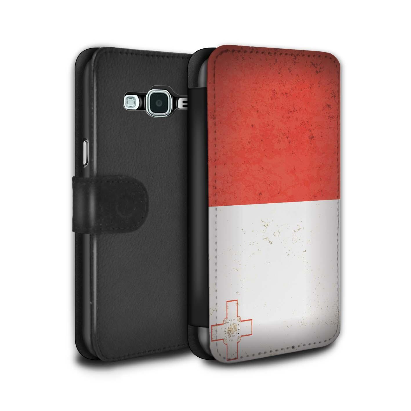 STUFF4-PU-Leder-Huelle-Case-Tasche-fuer-Samsung-Galaxy-J3-Europa-Flagge