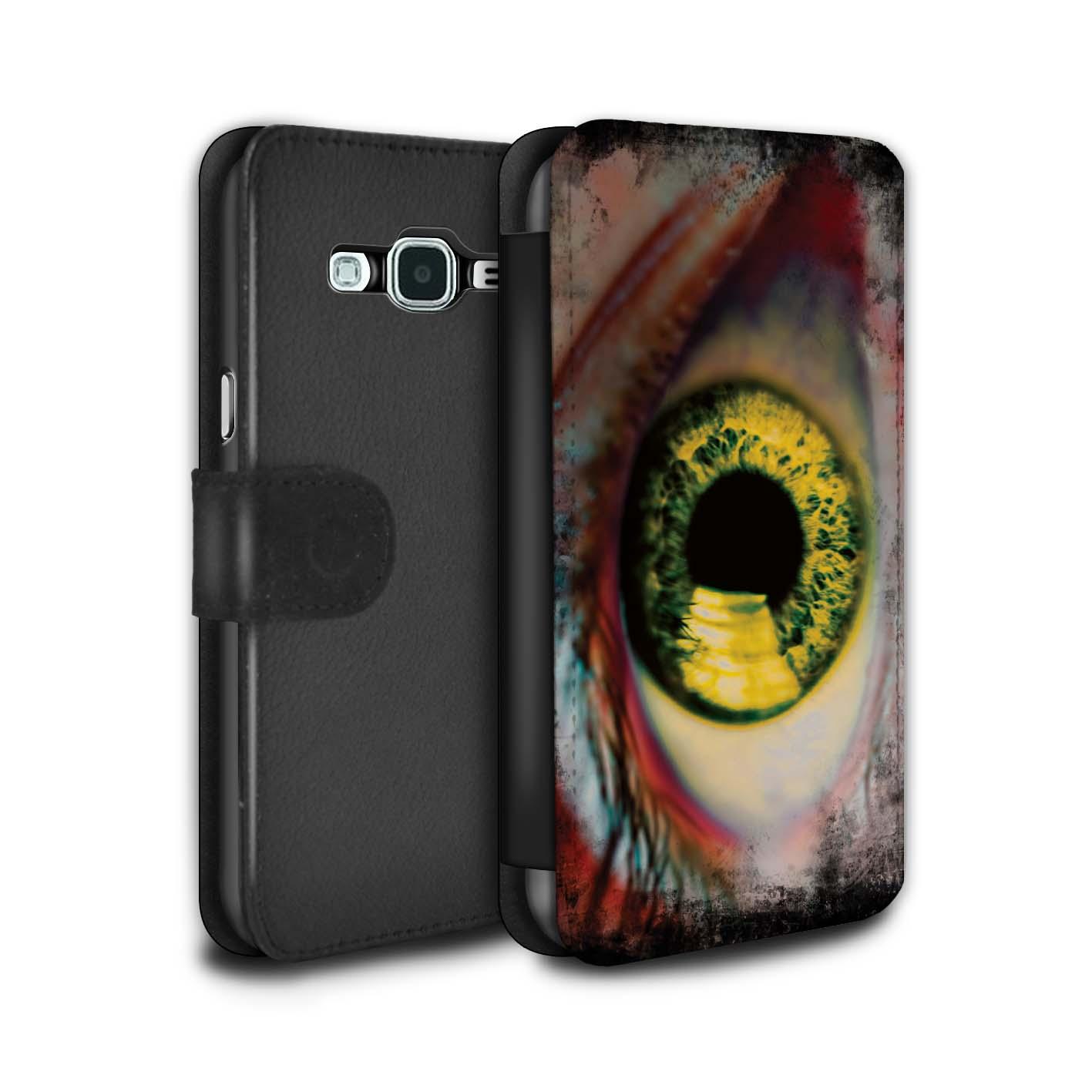 STUFF4-PU-Leather-Case-Cover-Wallet-for-Samsung-Galaxy-J3-Eye-Iris