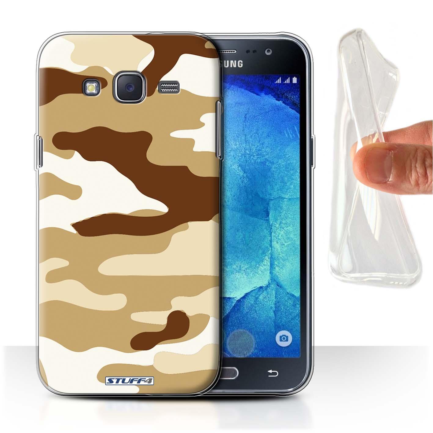 Gel-TPU-Coque-Etui-de-Stuff4-pour-Samsung-Galaxy-J5-J500-Armee-Camouflage