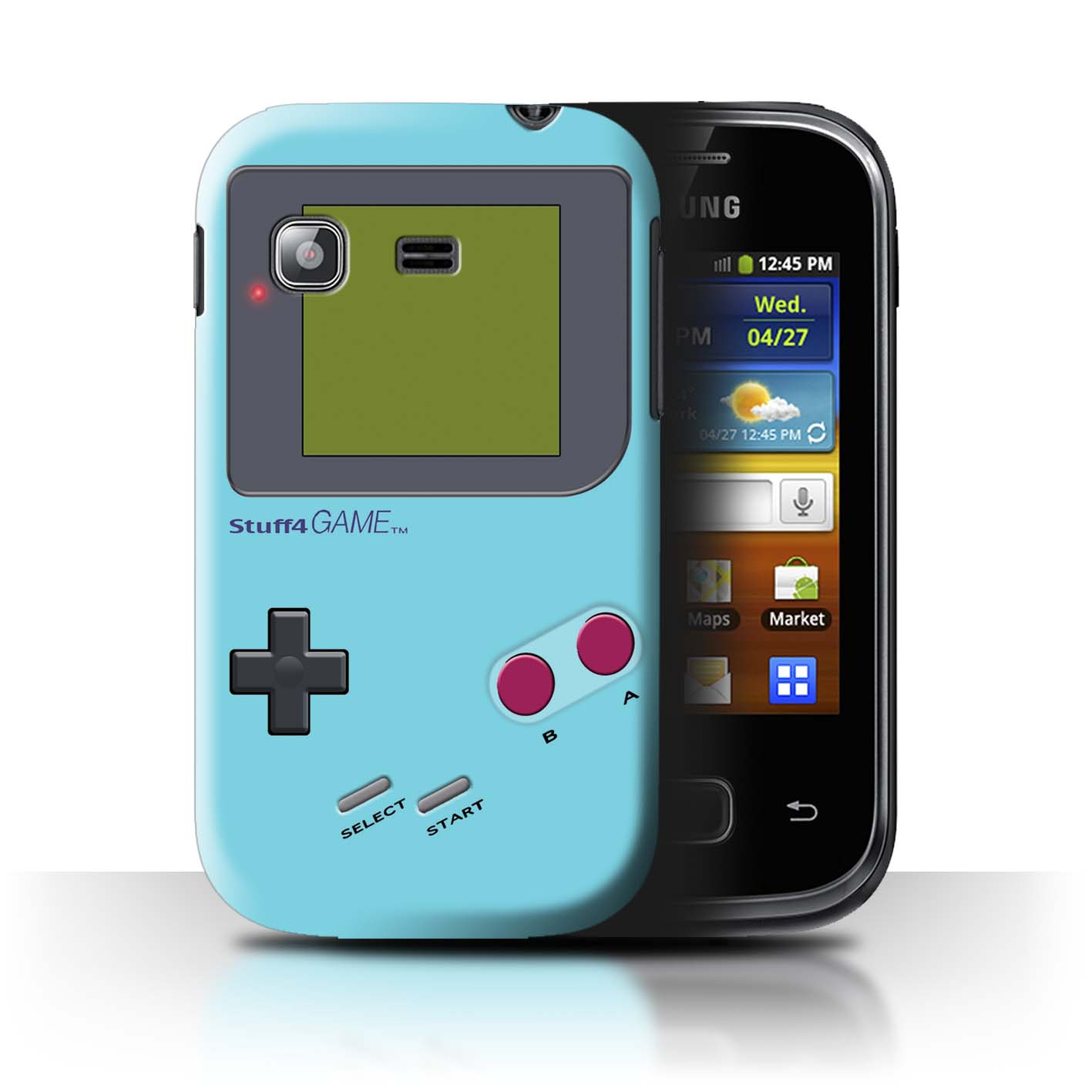 STUFF4-Back-Case-Cover-Skin-for-Samsung-Galaxy-Pocket-S5300-Video-Gamer-Gameboy