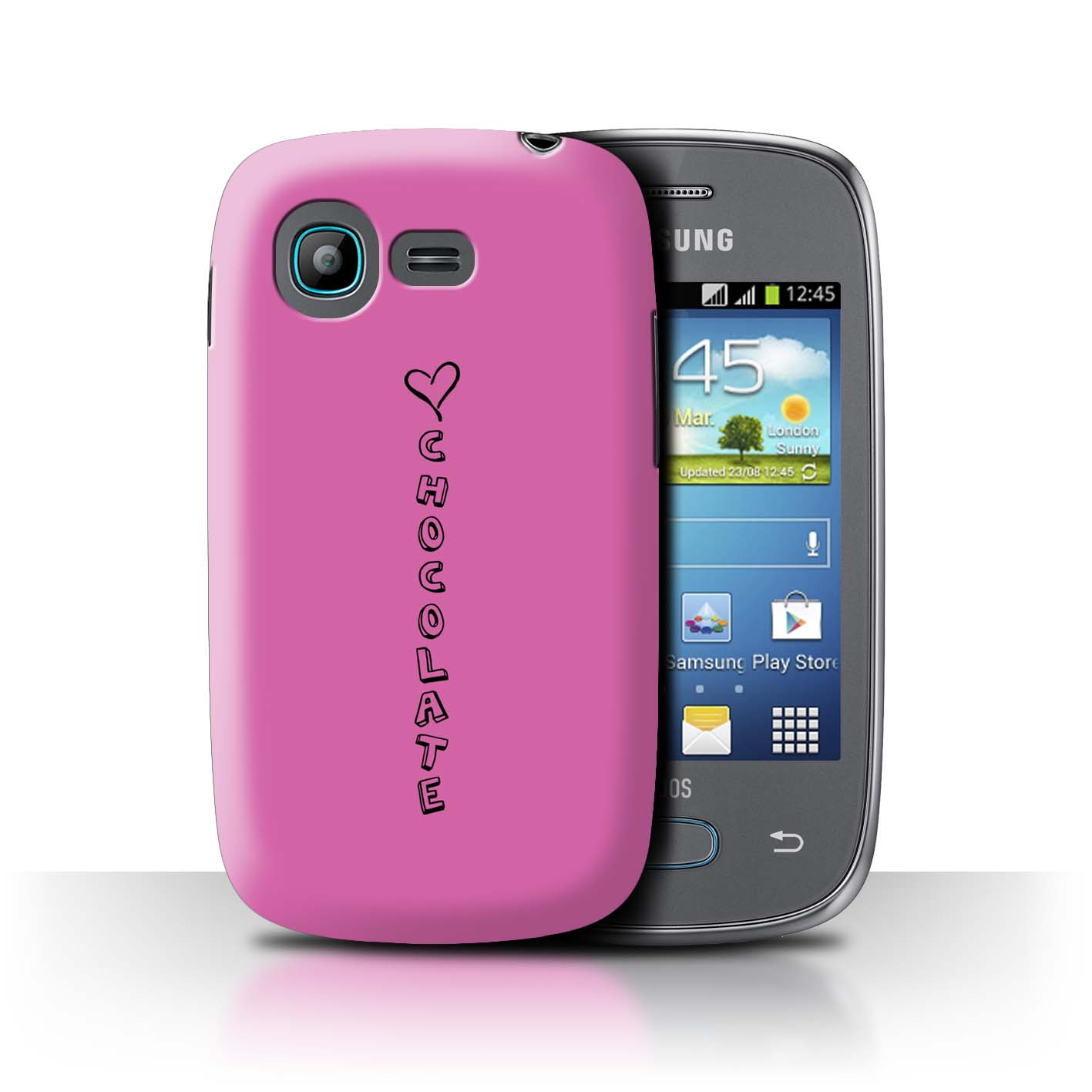 Stuff4 Hülle/Case/Backcover für Samsung Galaxy Pocket Neo/S5310/Herz XOXO