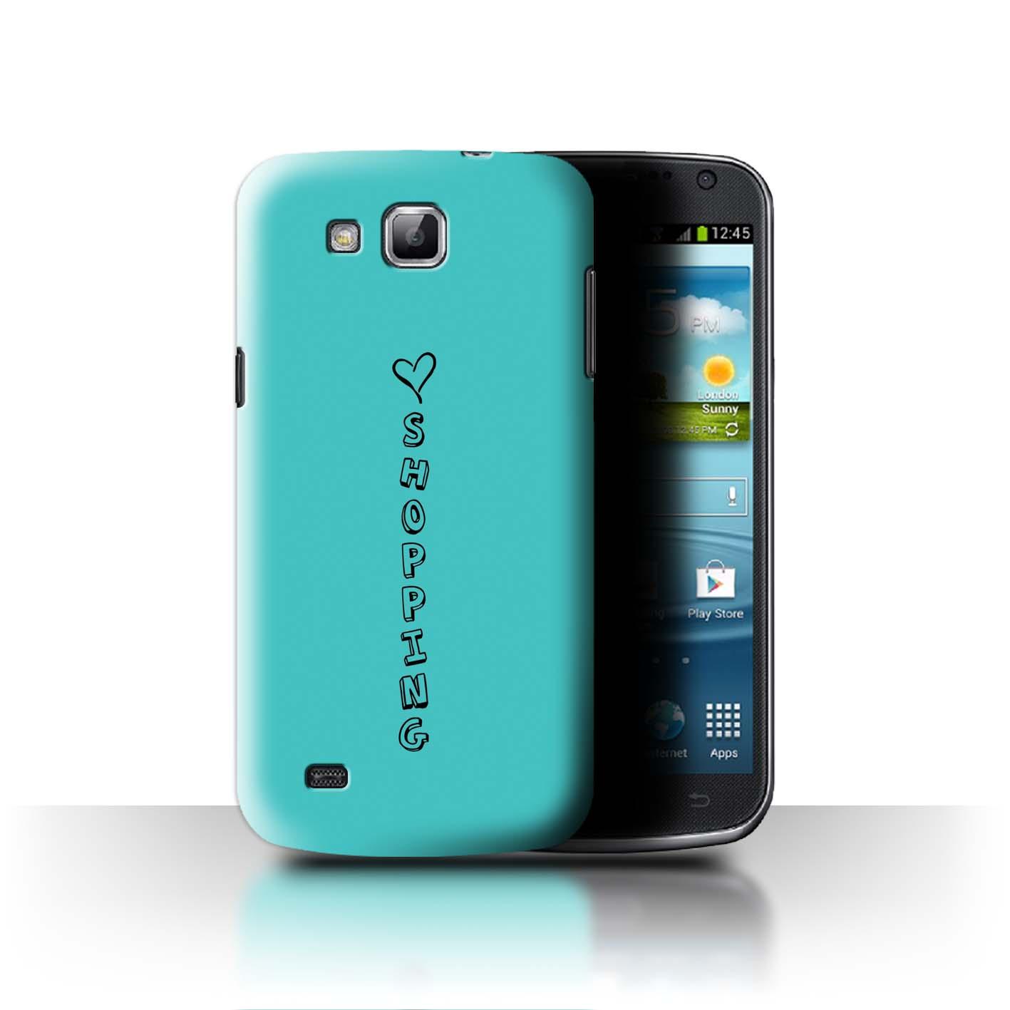 Stuff 4 teléfono caso/cubierta trasera para Samsung Galaxy Premier/I9260/Corazón Xoxo