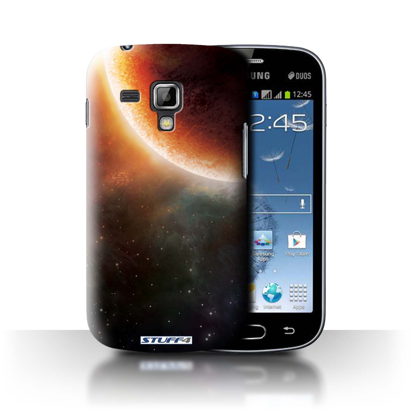 STUFF4 Back Case/Cover/Skin for Samsung Galaxy Trend Plus/S7580/Space/Cosmos