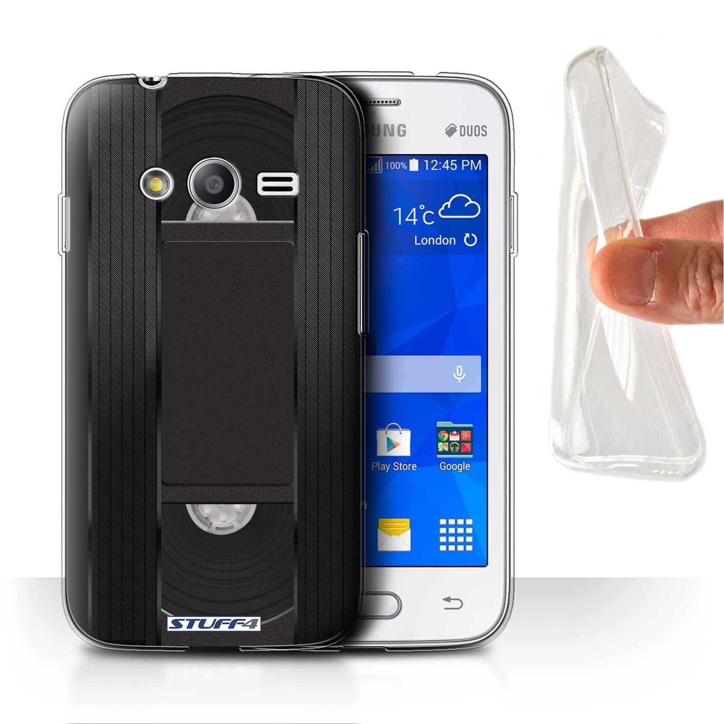 Stuff4 Gel Tpu Case Cover For Samsung Galaxy V Plus G318 Retro Tech