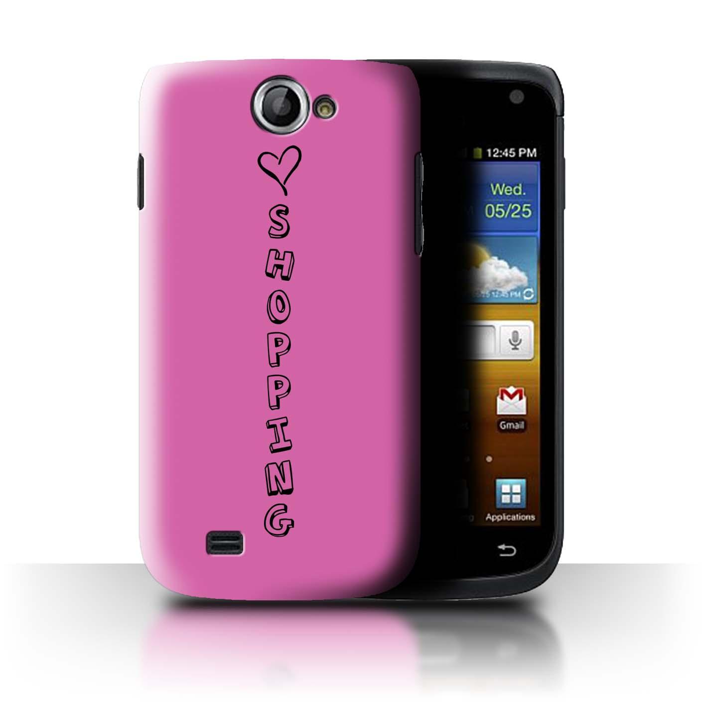 Stuff 4 teléfono caso/cubierta trasera para Samsung Galaxy W/I8150/Corazón Xoxo