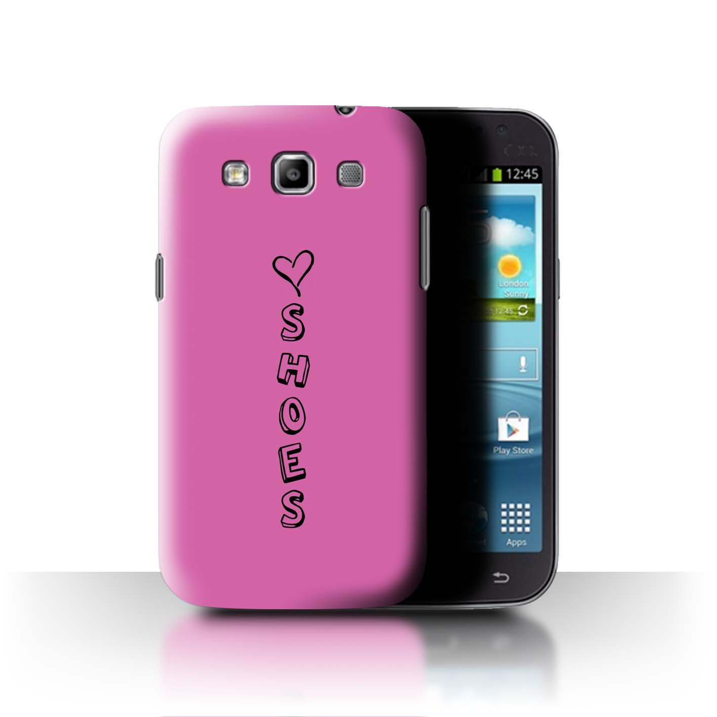Stuff 4 teléfono caso/cubierta trasera para Samsung Galaxy Win/I8550/Corazón Xoxo