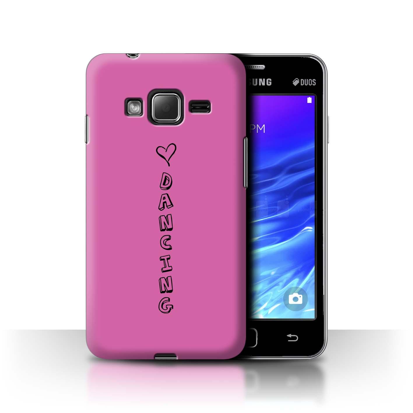 Stuff 4 teléfono caso/cubierta trasera para Samsung Z1/Z130/Corazón Xoxo