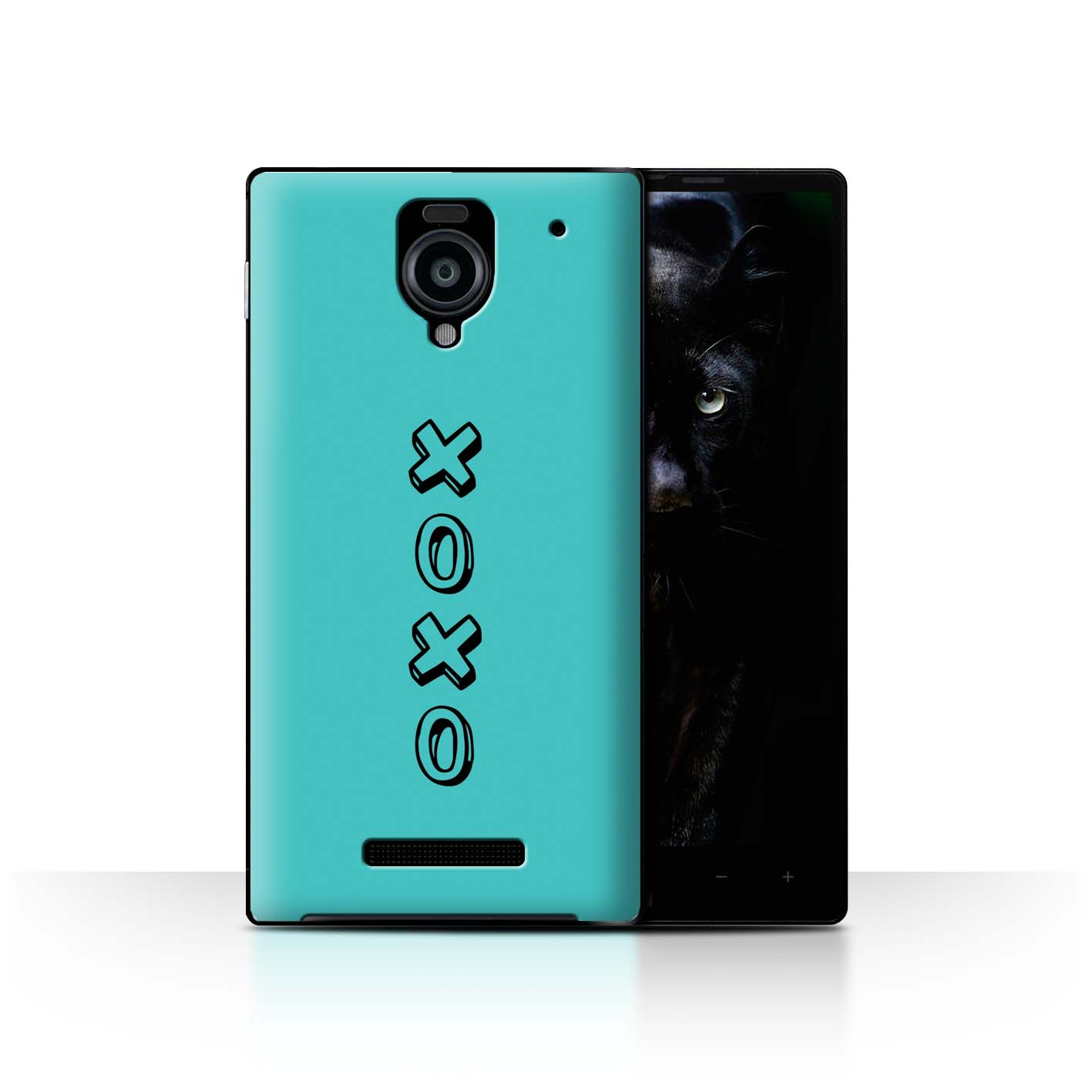 Stuff4 Hülle/Case/Backcover für Sharp Aquos Xx 302SH/Herz XOXO