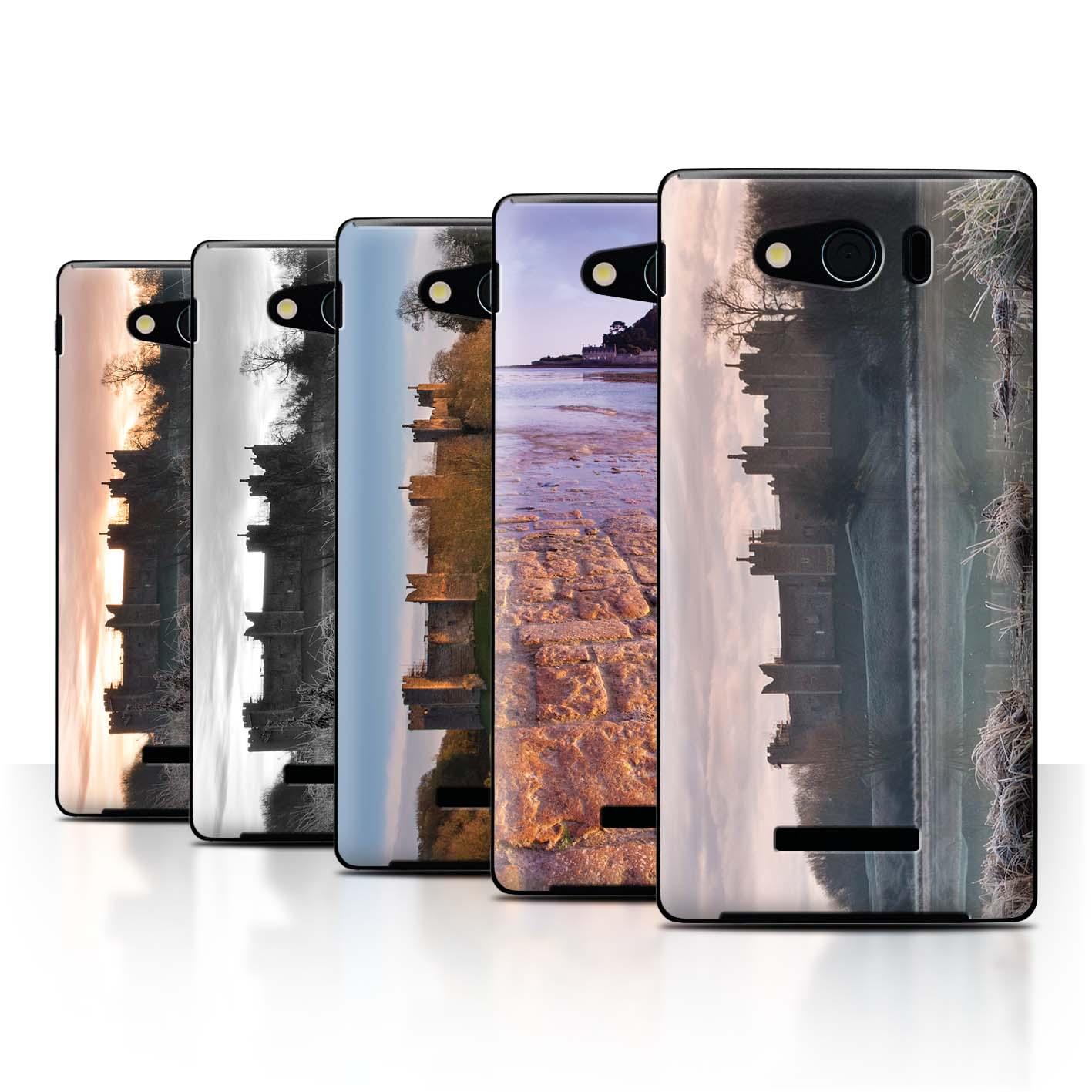 STUFF4-Back-Case-Cover-Skin-for-Sharp-Aquos-Xx-Mini-303SH-Castle-Fort