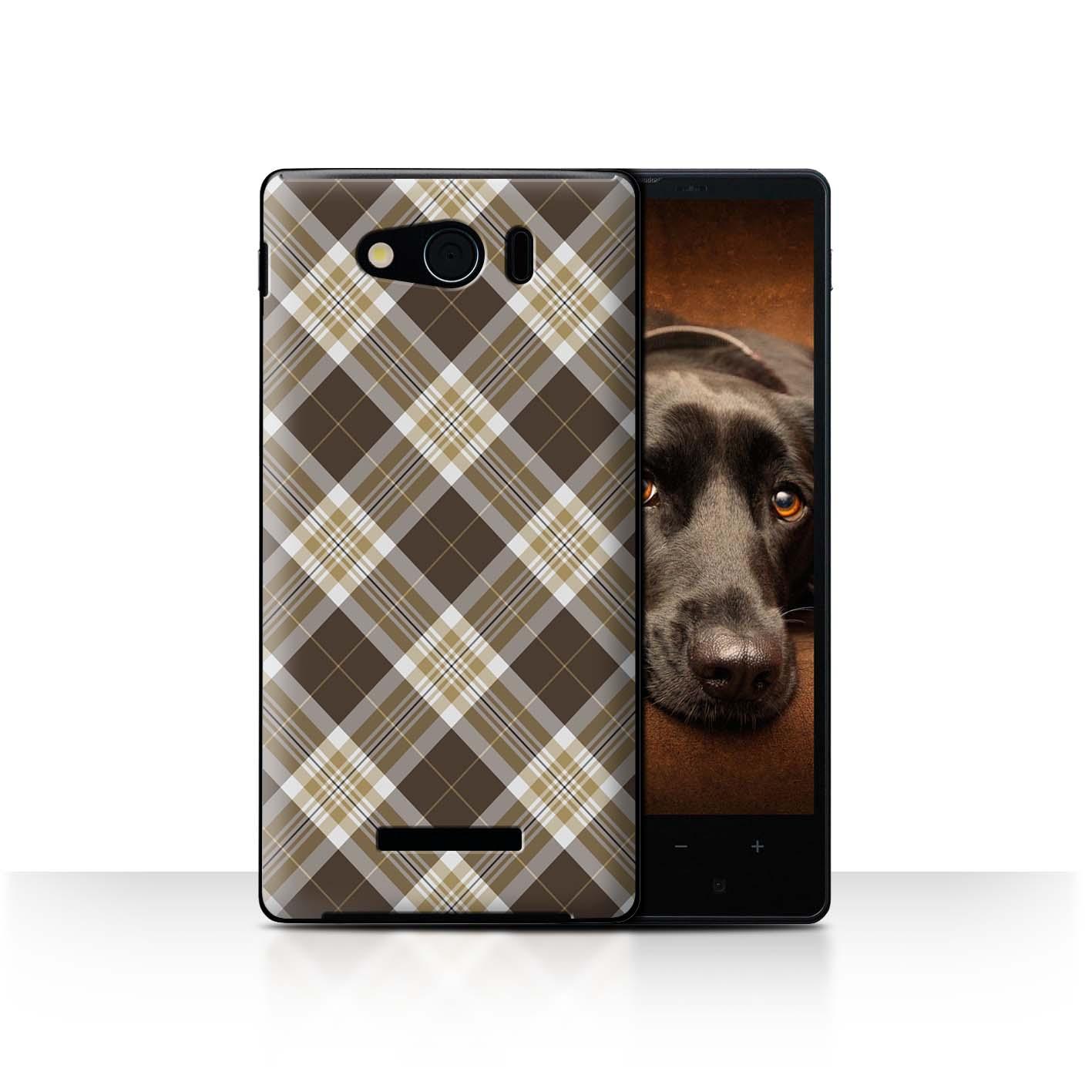 STUFF4-Back-Case-Cover-Skin-for-Sharp-Aquos-Xx-Mini-303SH-Tartan-Picnic-Pattern