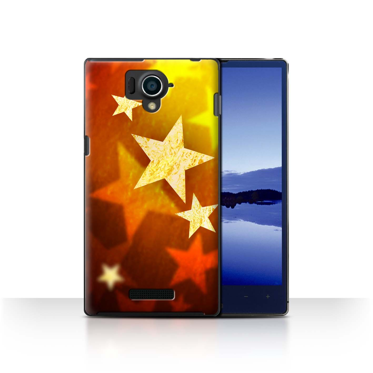 STUFF4-Back-Case-Cover-Skin-for-Sharp-Aquos-Xx-304SH-Christmas-Decorations