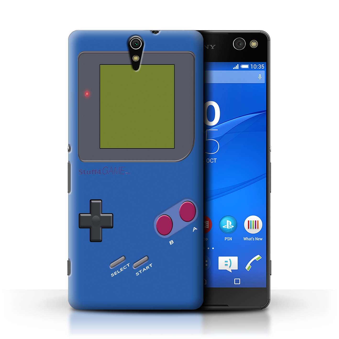 STUFF4-Back-Case-Cover-Skin-for-Sony-Xperia-C5-Ultra-Video-Gamer-Gameboy
