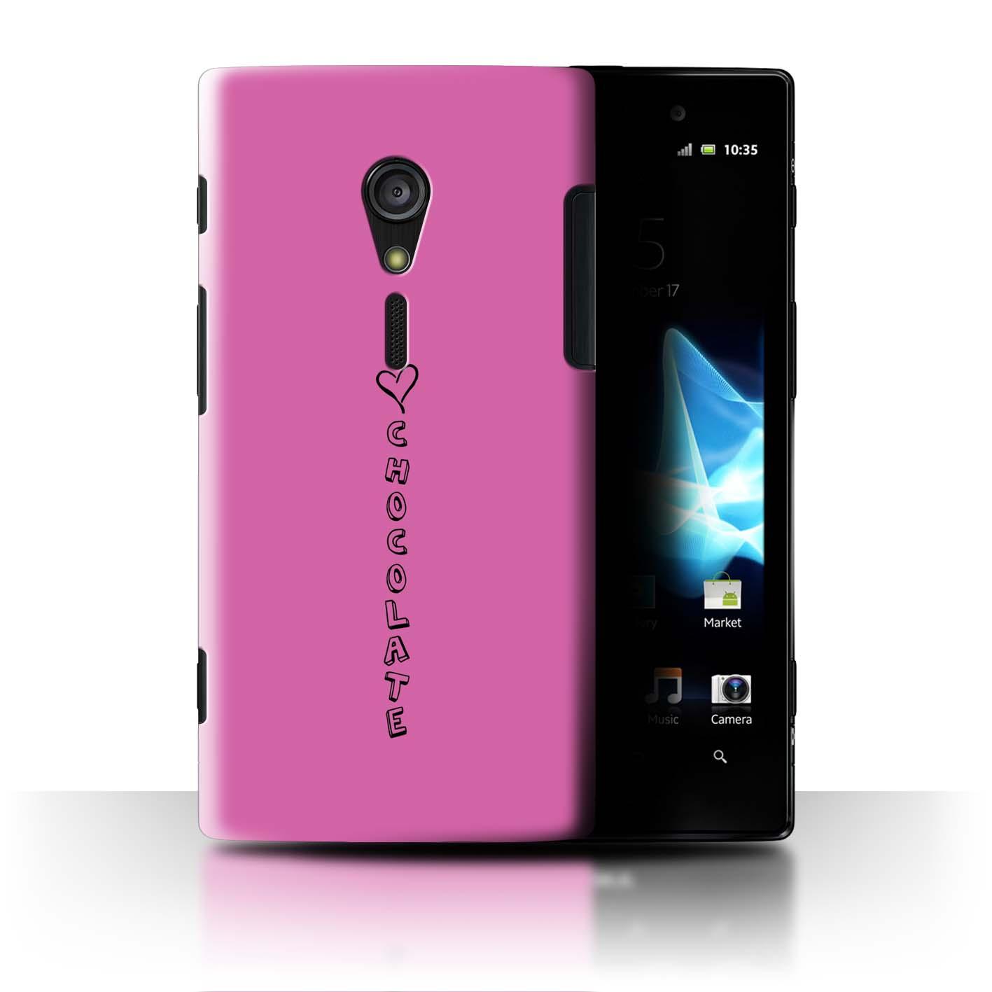 Stuff 4 teléfono caso/cubierta trasera para Sony Xperia Ion LTE/LT28/Corazón Xoxo