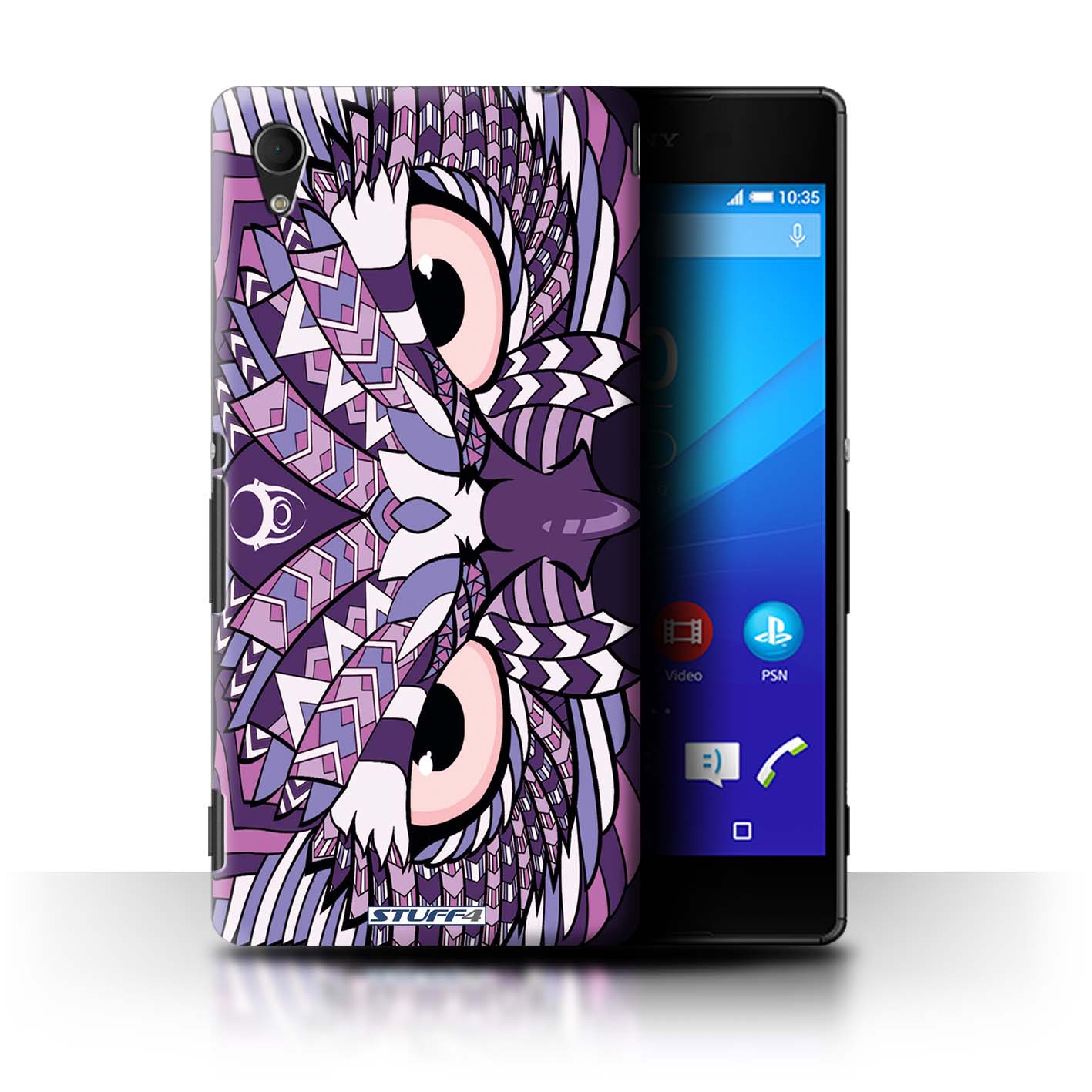 STUFF4 Phone Case Back Cover for Sony Xperia