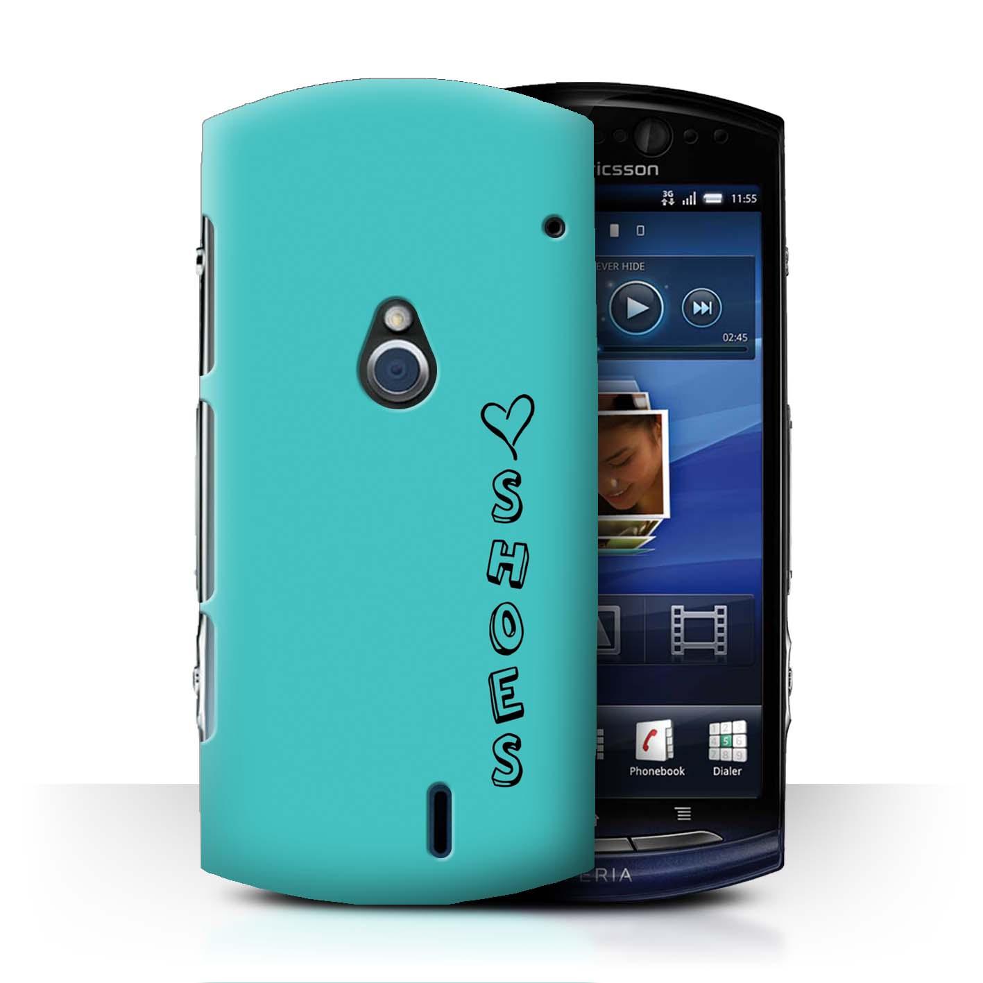 Stuff 4 teléfono caso/cubierta trasera para Sony Xperia Neo/MT15i/Corazón Xoxo