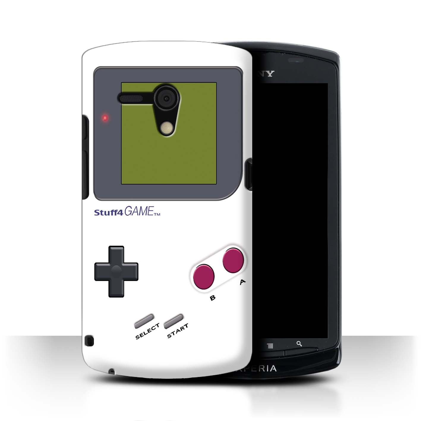 STUFF4-Back-Case-Cover-Skin-for-Sony-Xperia-Neo-L-MT25i-Video-Gamer-Gameboy