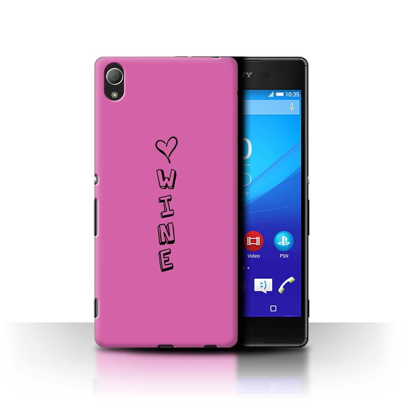 Stuff 4 teléfono caso/cubierta posterior para Sony Xperia Z4/Corazón Xoxo