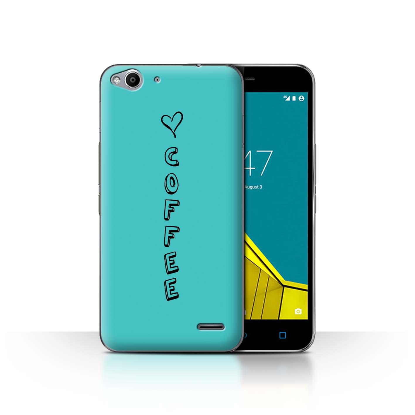 Stuff4 Hülle/Case/Backcover für Vodafone Smart Ultra 6/Herz XOXO