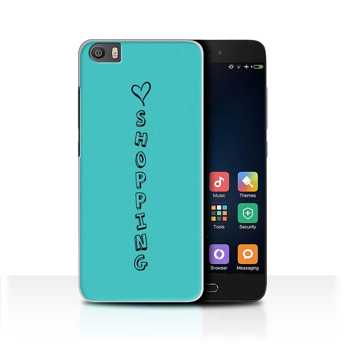 Stuff 4 teléfono caso/cubierta trasera para Xiaomi Mi5/Mi 5/Corazón Xoxo