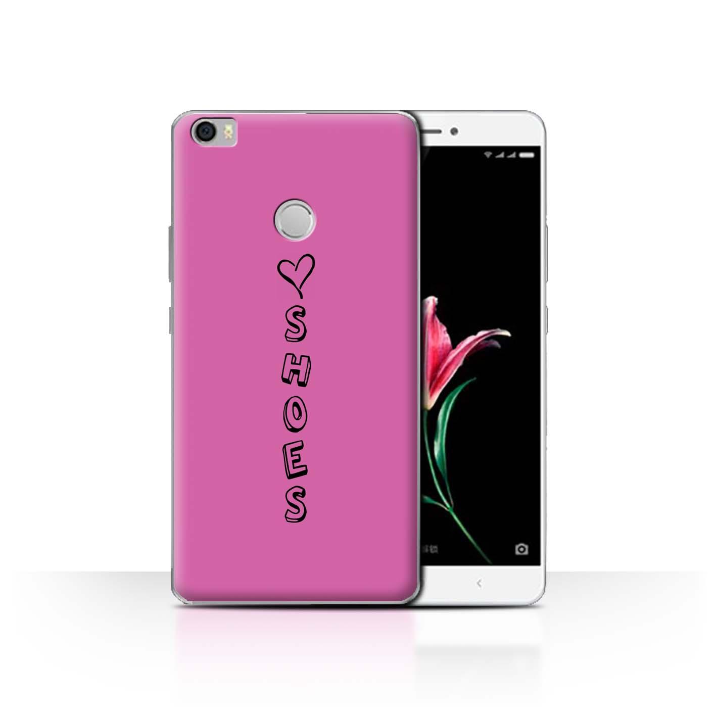 Stuff 4 teléfono caso/cubierta trasera para Xiaomi Mi Max/Corazón Xoxo
