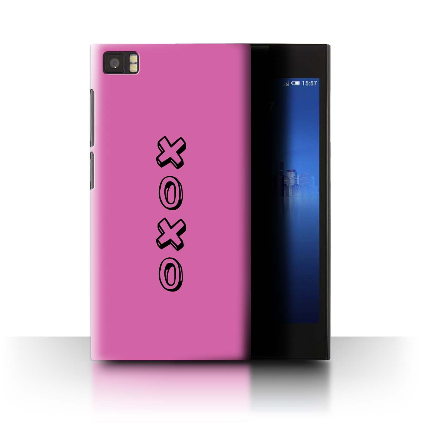 Stuff 4 teléfono caso/cubierta trasera para Xiaomi Mi 3/Corazón Xoxo