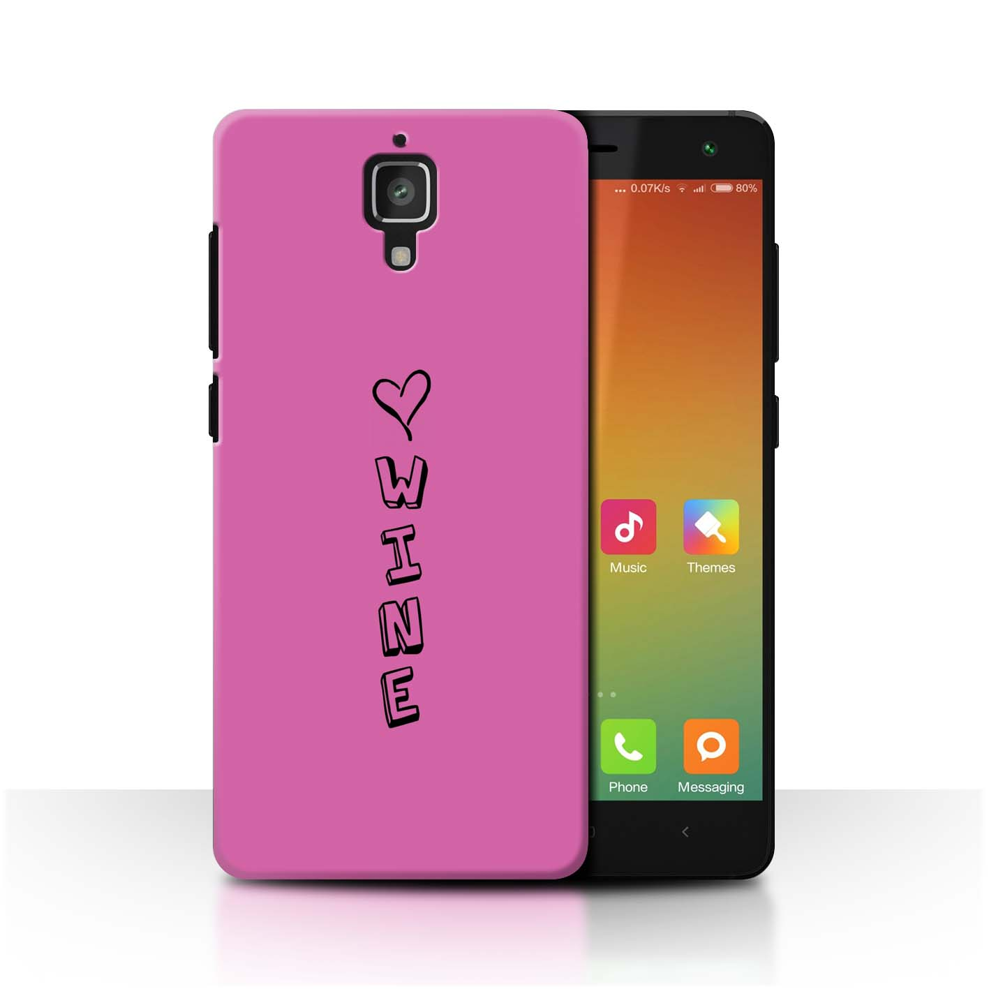 Stuff 4 teléfono caso/cubierta trasera para Xiaomi Mi 4/Corazón Xoxo