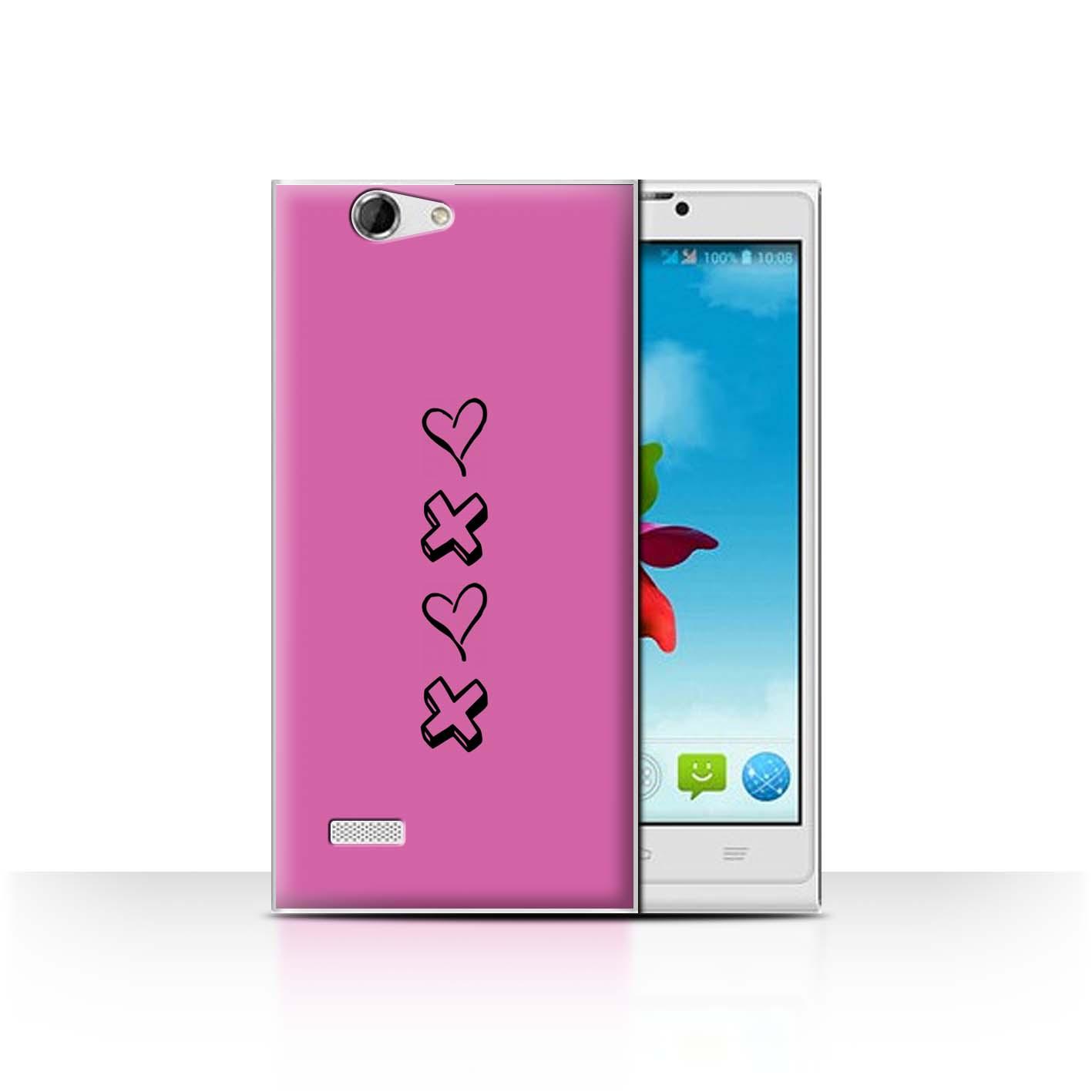 Stuff 4 teléfono caso/cubierta trasera para ZTE Blade L2/Corazón Xoxo