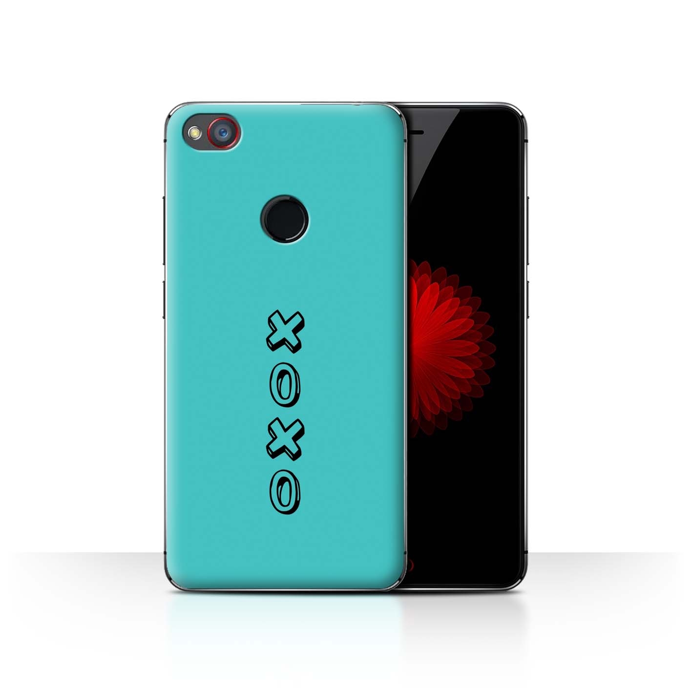 Stuff4 Hülle/Case/Backcover für ZTE Nubia Z11 Mini/Herz XOXO